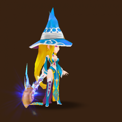 Water Mystic Witch (Megan)