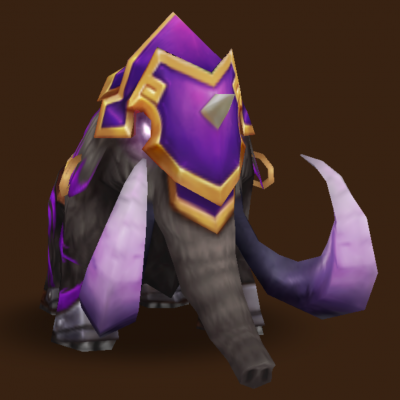 Dark Battle Mammoth (Basalt)