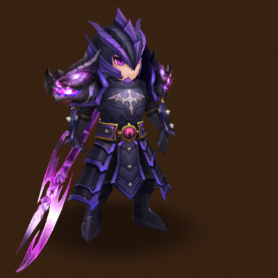 Dark Dragon Knight (Ragdoll)