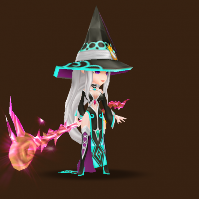 Dark Mystic Witch (Gina)