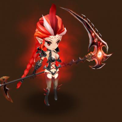 Fire Hell Lady (Raki)