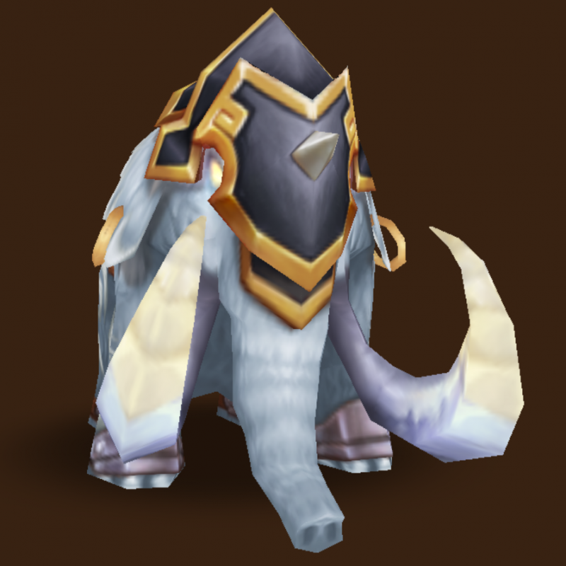 Light Battle Mammoth (Marble)