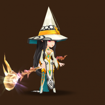 Light Mystic Witch (Linda)