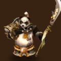 Light Panda Warrior (Tian Lang)