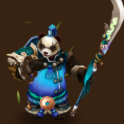 Water Panda Warrior (Mo Long)