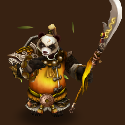 Wind Panda Warrior (Feng Yan)